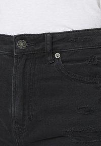 American Eagle - Slim fit jeans - destroyed black - 3