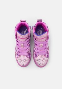 Skechers - TWI LITES - High-top trainers - pink/multicolor - 3