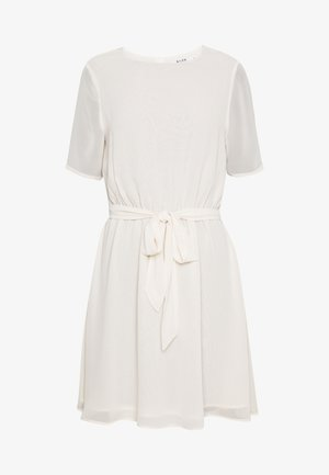 BELTED DRESS - Day dress - off white