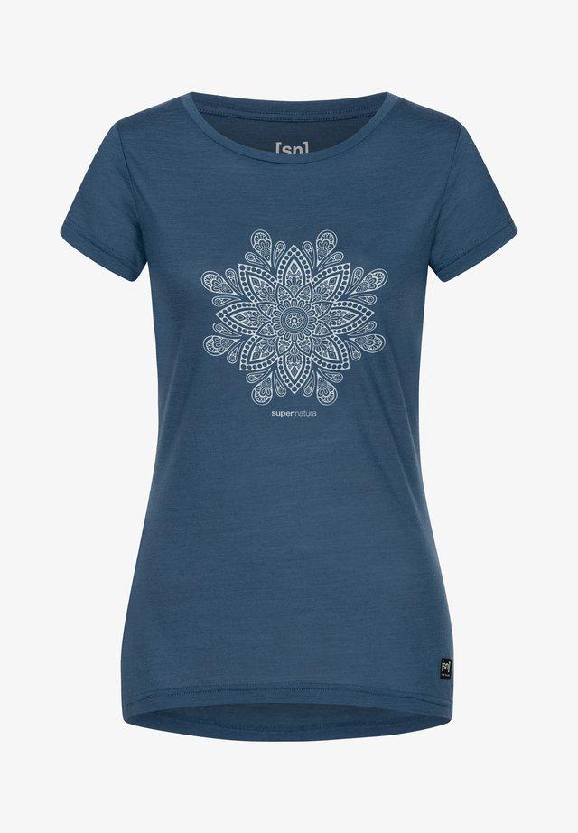 MANDALA  - Print T-shirt - denim