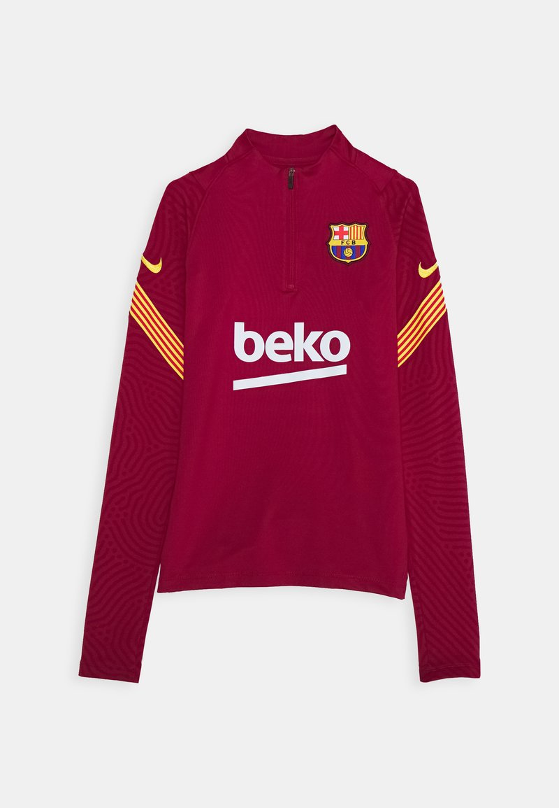 Nike Performance - FC BARCELONA DRY - Club wear - noble red/amarillo