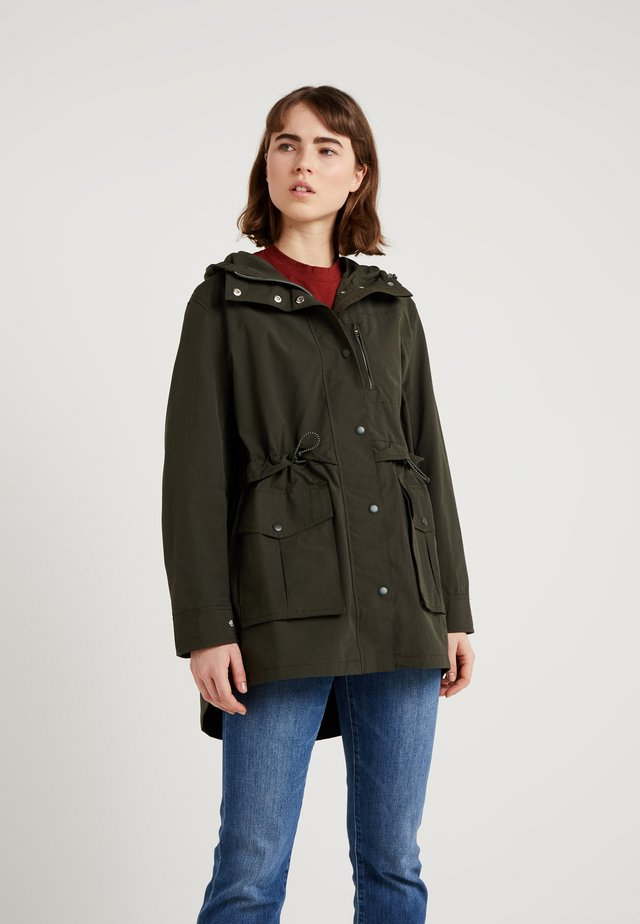 THE PERFECT RAINCOAT - Parka - dark moss