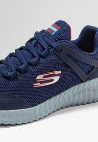 Skechers - ELITE FLEX - Sneaker low - navy/red - 2