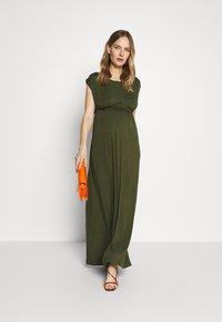 Slacks & Co. - AMELIA - Maxi dress - khaki - 1