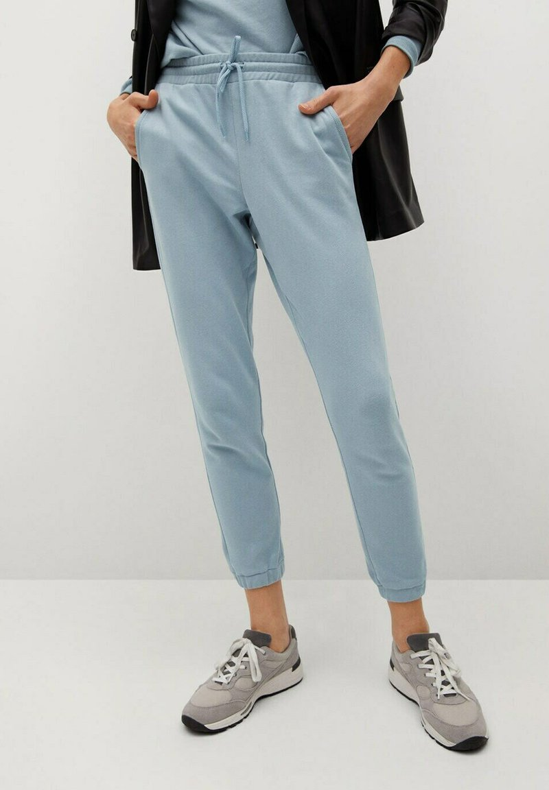 Mango - RELAX-A - Pantalon de survêtement - bleu ciel