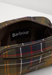 Barbour - TARTAN WASHBAG - Wash bag - multicolor/green - 2