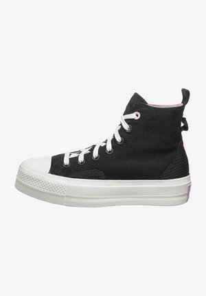 CHUCK TAYLOR ALL STAR LIFT - Zapatillas altas - black/pixel purple/white