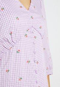 YAS - YASMAYA MIDI DRESS - Vestito estivo - lilac - 5