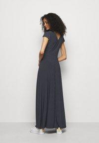 Lauren Ralph Lauren - PRINTED MATTE DRESS - Maxi dress - lighthouse navy - 2