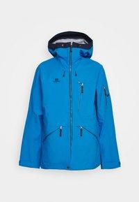 MENS BACKSIDE JACKET - Ski jacket - blue