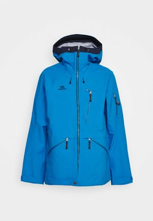 MENS BACKSIDE JACKET - Ski jacket - blue