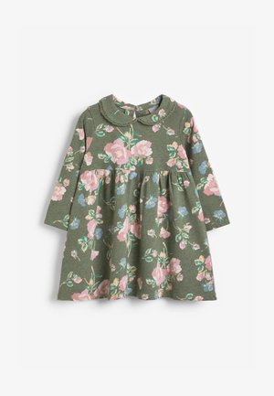 FRILL TEA - Day dress - green