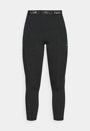 7/8 - Leggings - black/particle grey