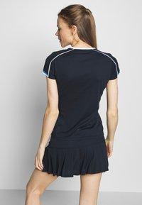 sergio tacchini - PLIAGE - Print T-shirt - navy/white - 2
