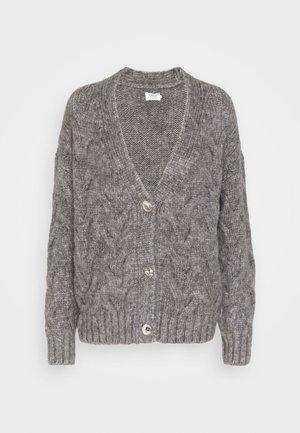ONLMARCELLA CARDIGAN - Cardigan - medium grey melange