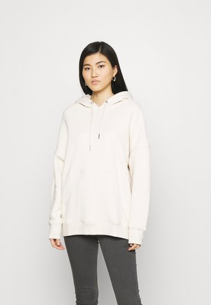 LONG SLEEVE HOODY - Hoodie - raw cream