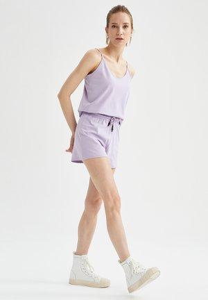 SET - Shorts - purple