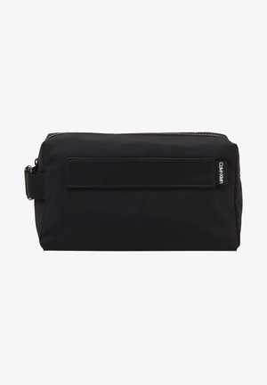 NASTRO LOGO WASHBAG - Wash bag - black