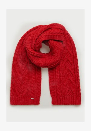 LANNAH CABLE  - Scarf - rouge red
