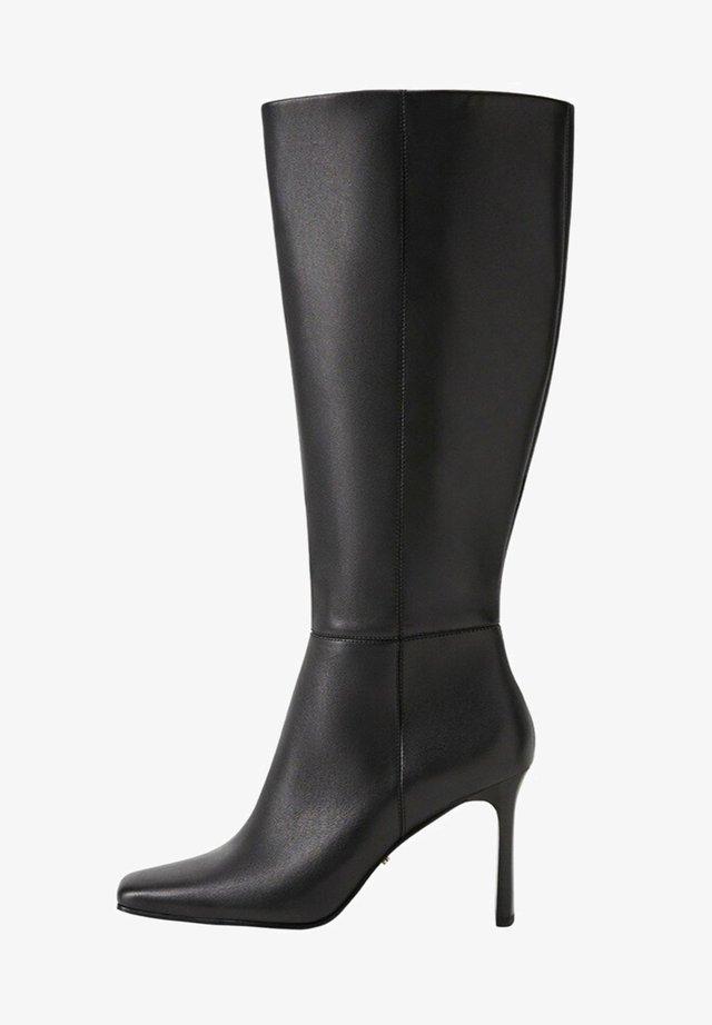 BRAD WIDE LEG - Boots - schwarz