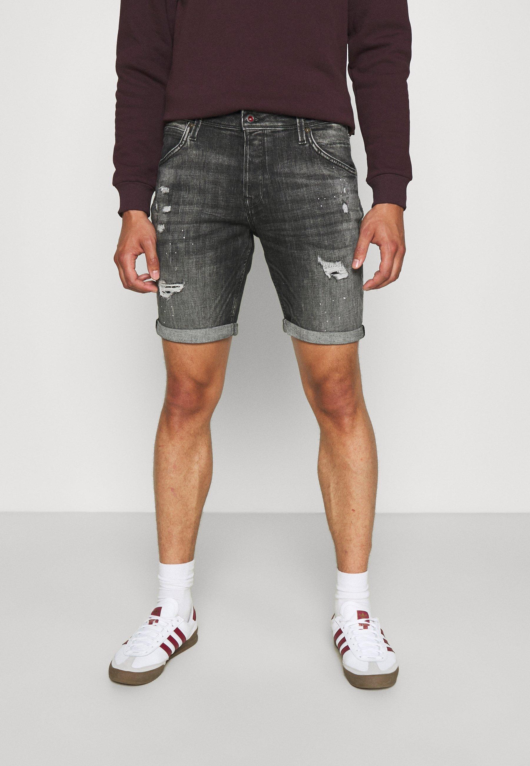 Homme JJIRICK JJFOXSHORTS - Short en jean