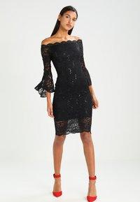 Sista Glam - VANESSA - Cocktail dress / Party dress - black - 1