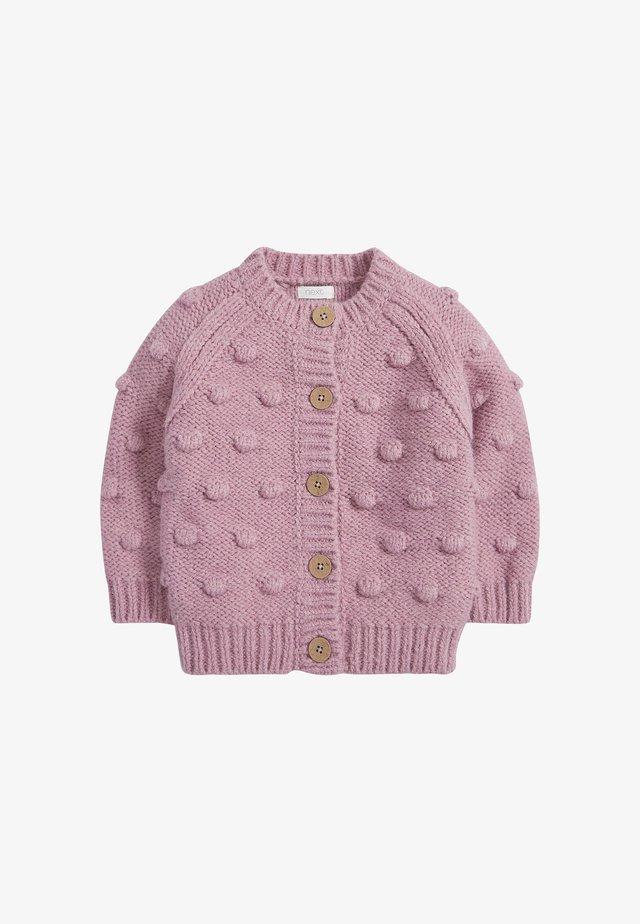 CHUNKY BOBBLE - Cardigan - pink