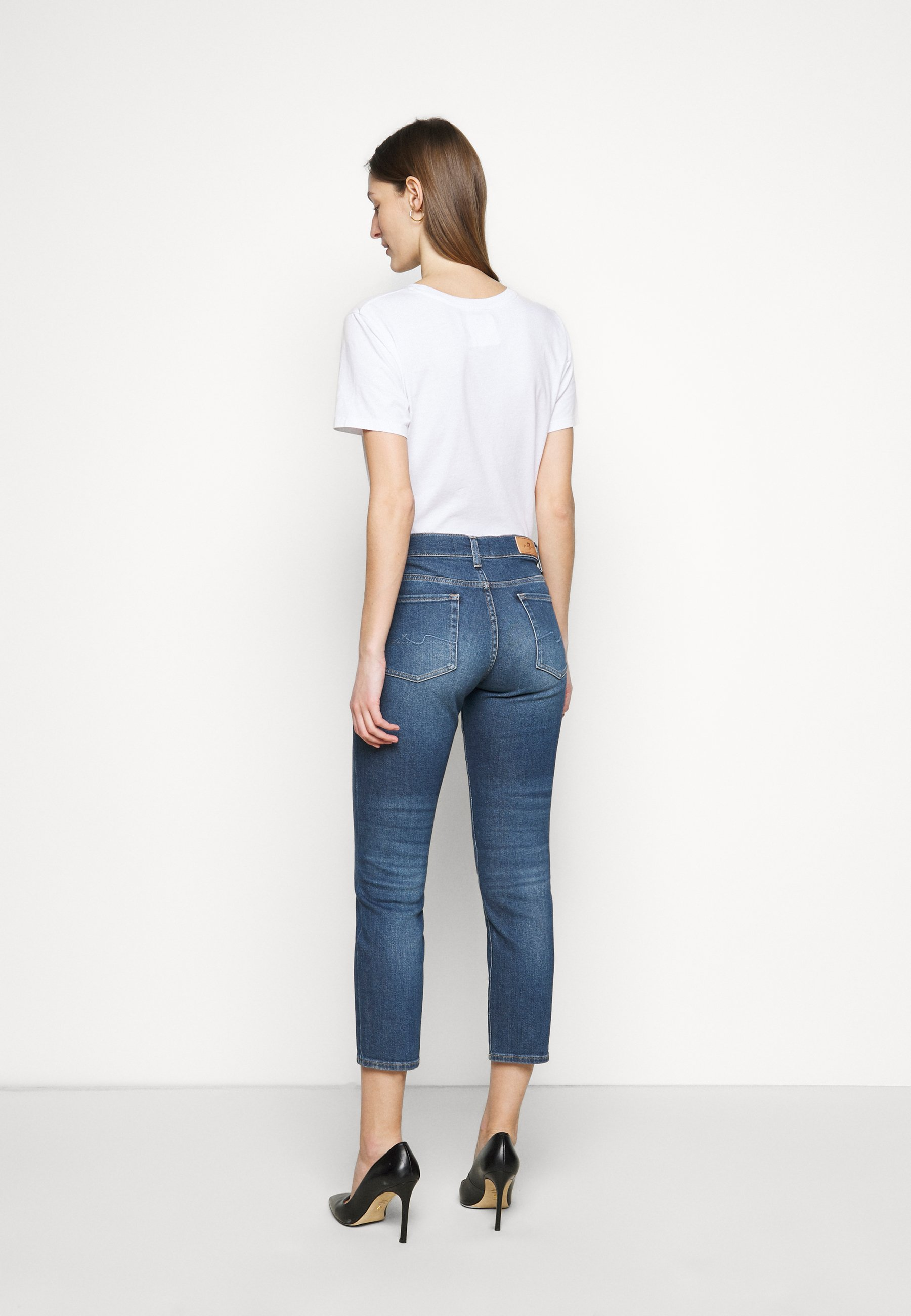 Women ROXANNE ANKLE LUXE VINTAGE PACIFIC GROVE - Jeans Skinny Fit