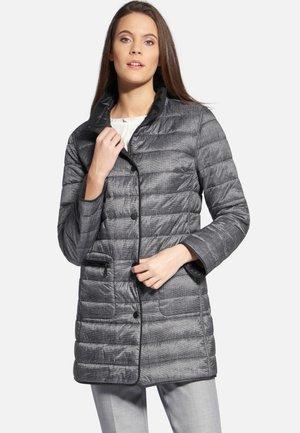 MIT STEHKRAGEN - Winter coat - black