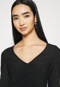 Monki - OLLE - Long sleeved top - black dark - 4