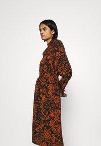 ONLY - ONLNOVA LUX SMOCK BELOW KNEE DRESS - Day dress - black - 3