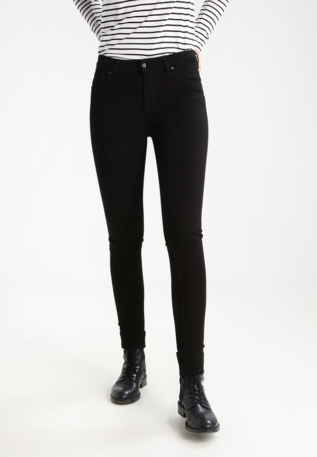 SLIGHT     - Jeans Skinny Fit - black