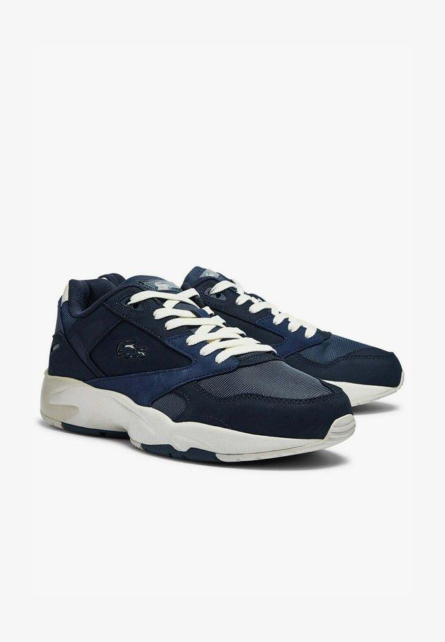 Sneakers laag - nvy/dk blu