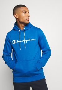 Champion - LEGACY HOODED - Mikina s kapucí - blue - 0