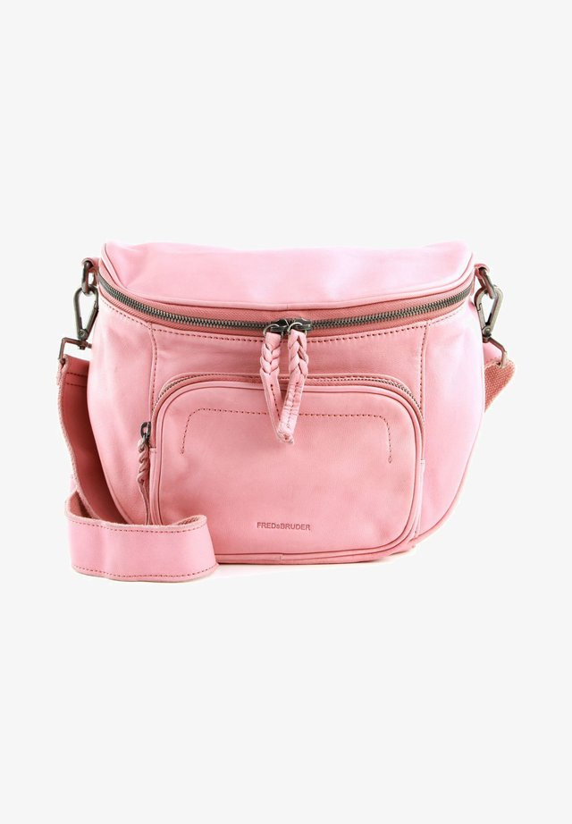 Across body bag - blush