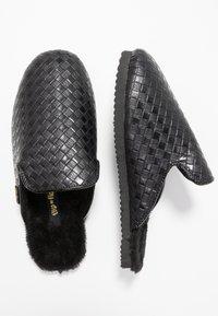 flip*flop - SLIPPER BRAIDED - Slippers - black - 3