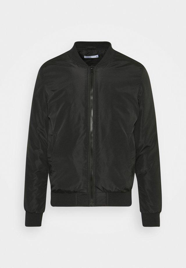 JACKET - Bomber Jacket - black