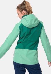 Jack Wolfskin - SAVOIA PEAK - Hardshell jacket - pacific green - 1