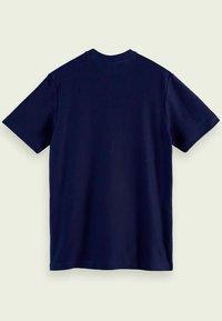 Scotch & Soda - TWILL STRUCTURED - Print T-shirt - midnight - 5