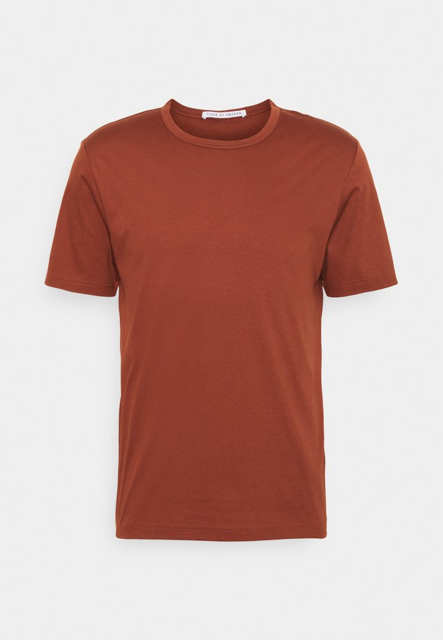 OLAF - T-shirt basique - rust red