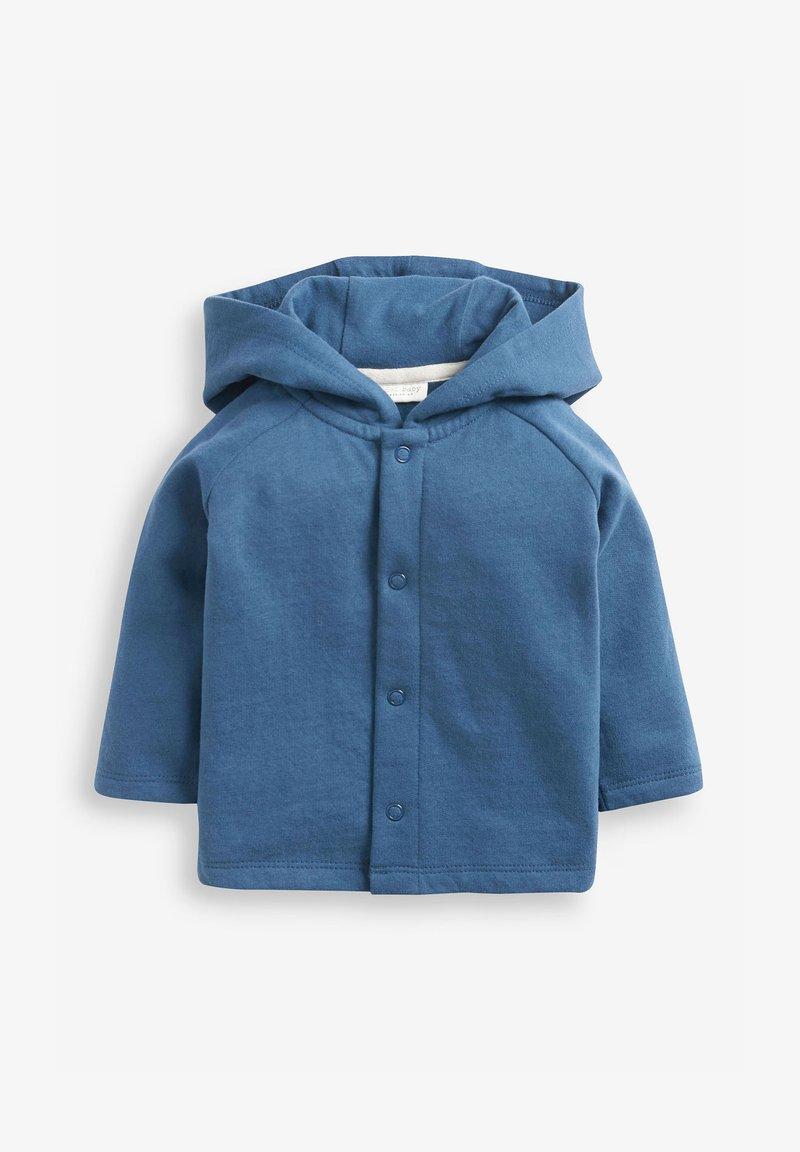 Next - Mikina na zip - blue
