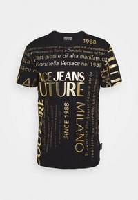 Versace Jeans Couture - MOUSE - T-shirts med print - black - 0