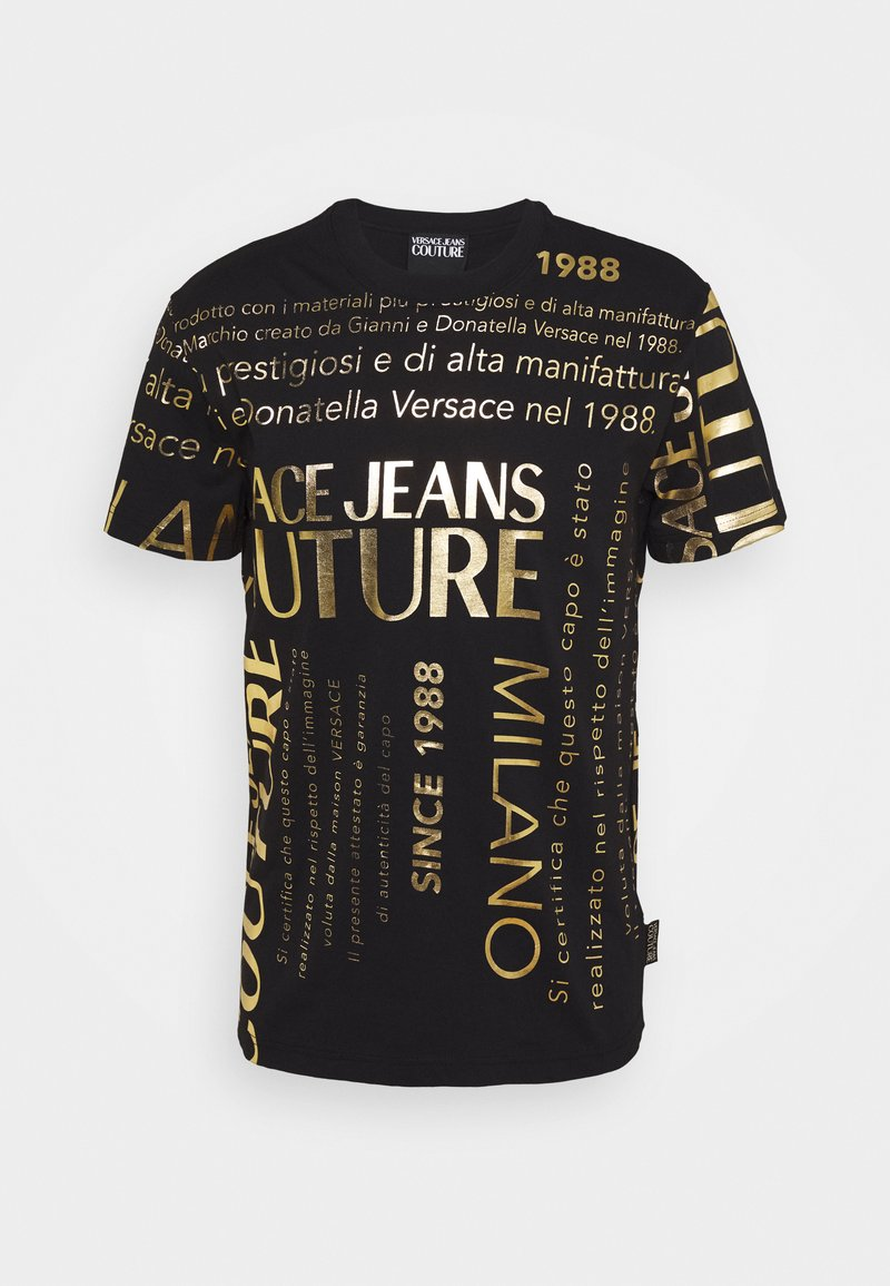 Versace Jeans Couture - MOUSE - T-shirts med print - black