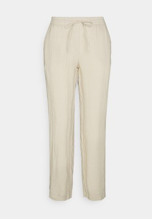 PANTS SMART STYLE STRAIGHT LEG - Trousers - summer taupe