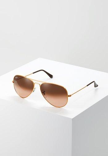0RB3025 AVIATOR - Sunglasses - bronze/copper pink gradient brown