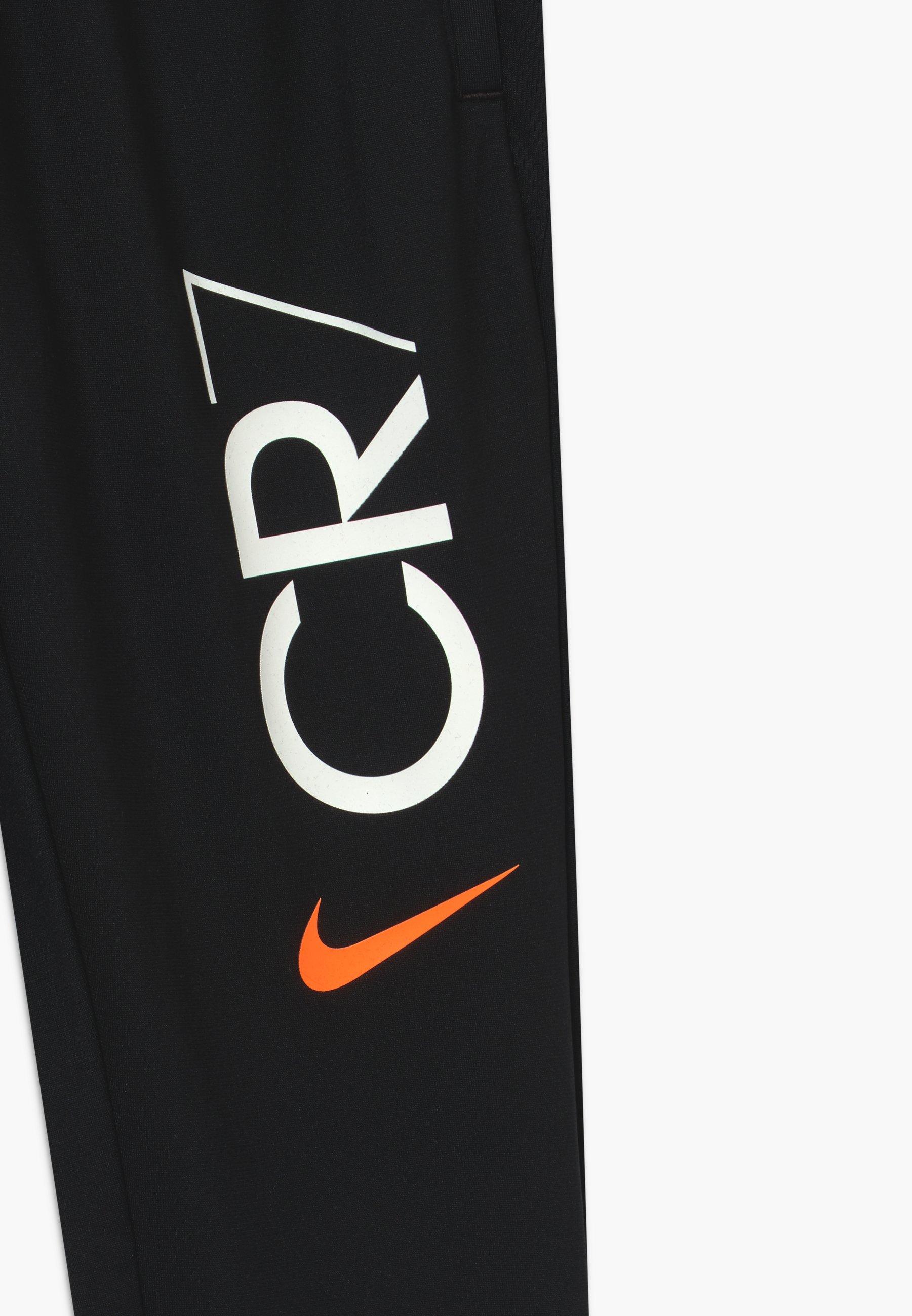 raya encender un fuego Tesoro  Nike Performance CR7 DRY - Pantalon de survêtement - black/white/noir -  ZALANDO.FR