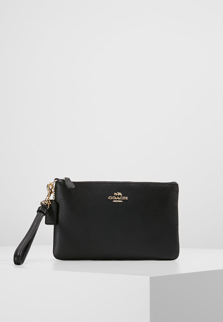 Coach - SMALL WRISTLET - Kopertówka - black