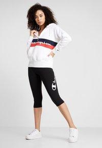 Champion - CAPRI PANTS - 3/4 sports trousers - black - 1
