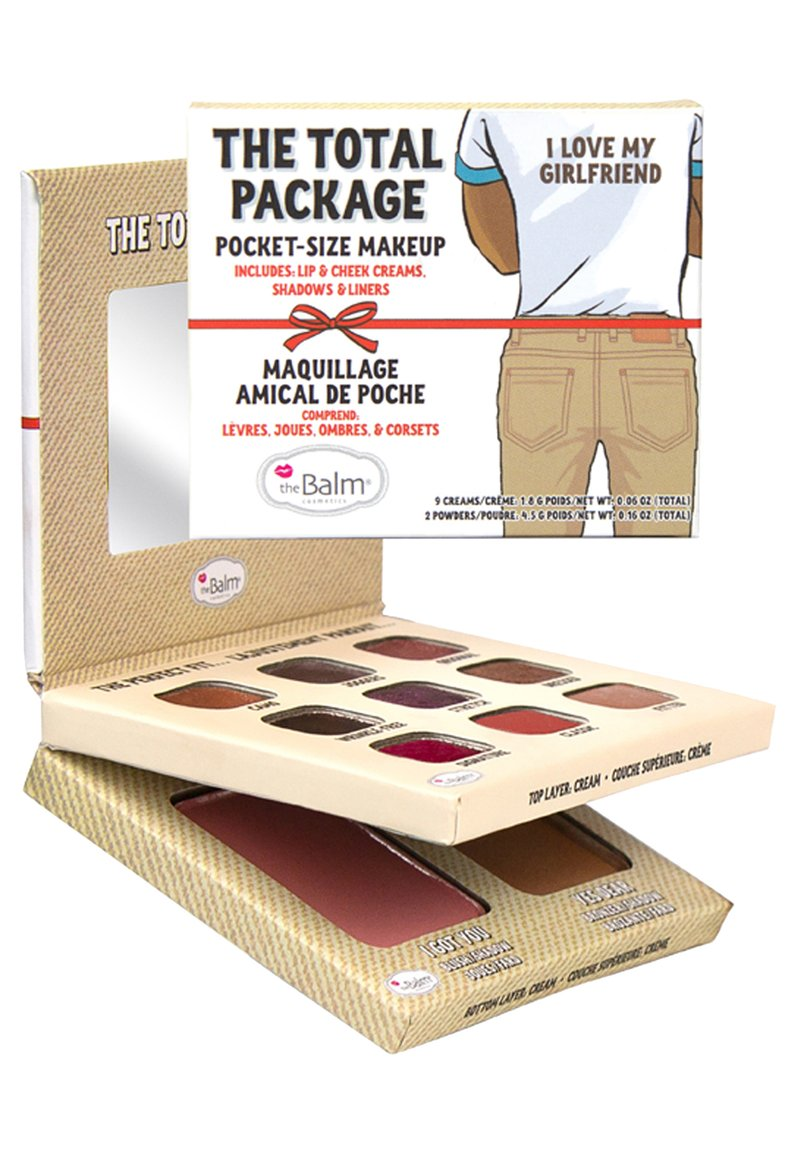 the Balm - THE TOTAL PACKAGE (I LOVE MY GIRLFRIEND) - Palette pour le visage - multi shades