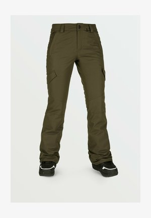 Outdoor trousers - black_military